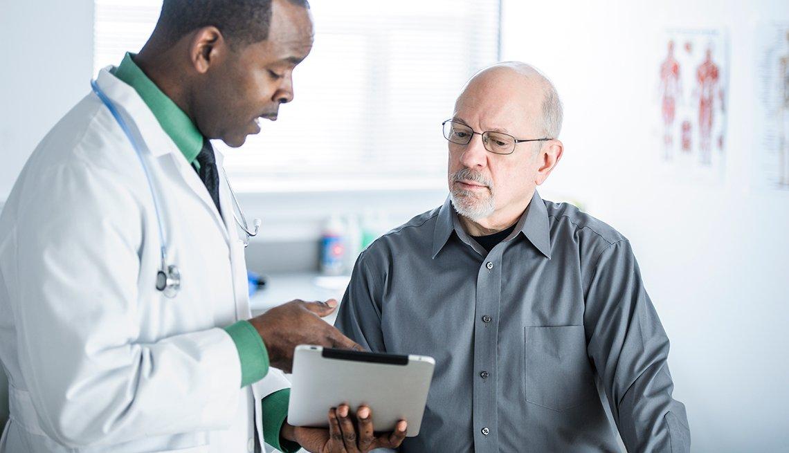 Consulta doctor paciente