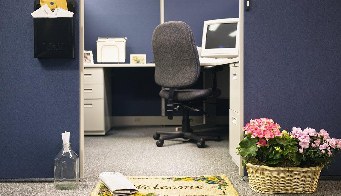 Cubículo de oficina