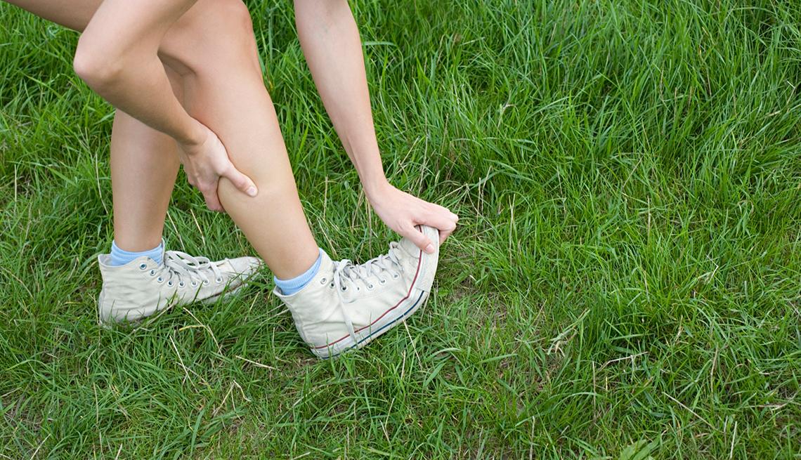 Muslo y pantorrilla dolor muscular