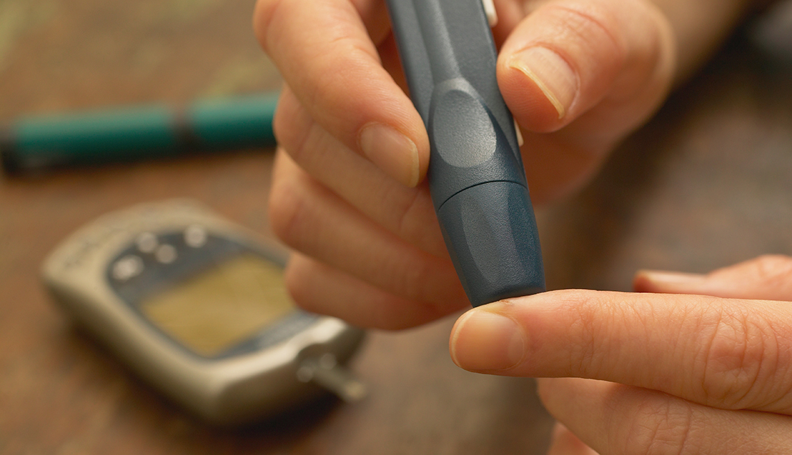 Ways to Shape Up for Your Surgery, blood sugar test