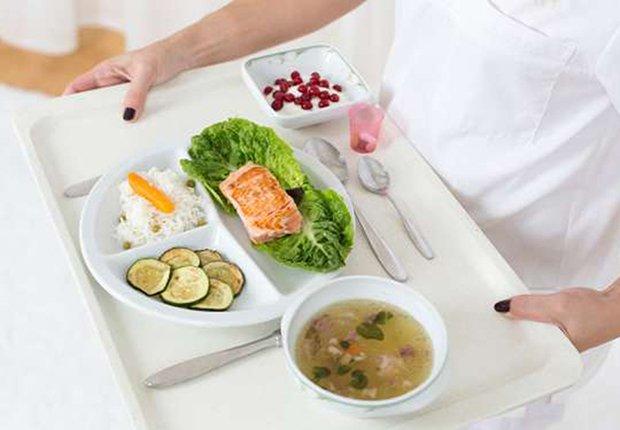 Alimentos de hospital