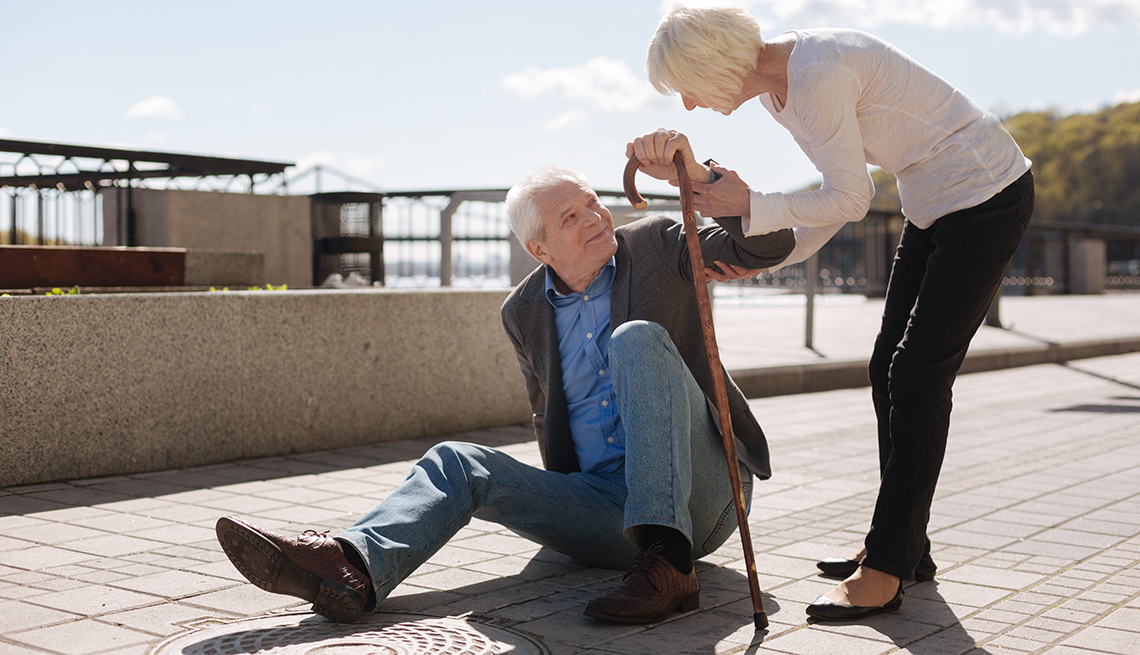 Slip and Falls in Older People