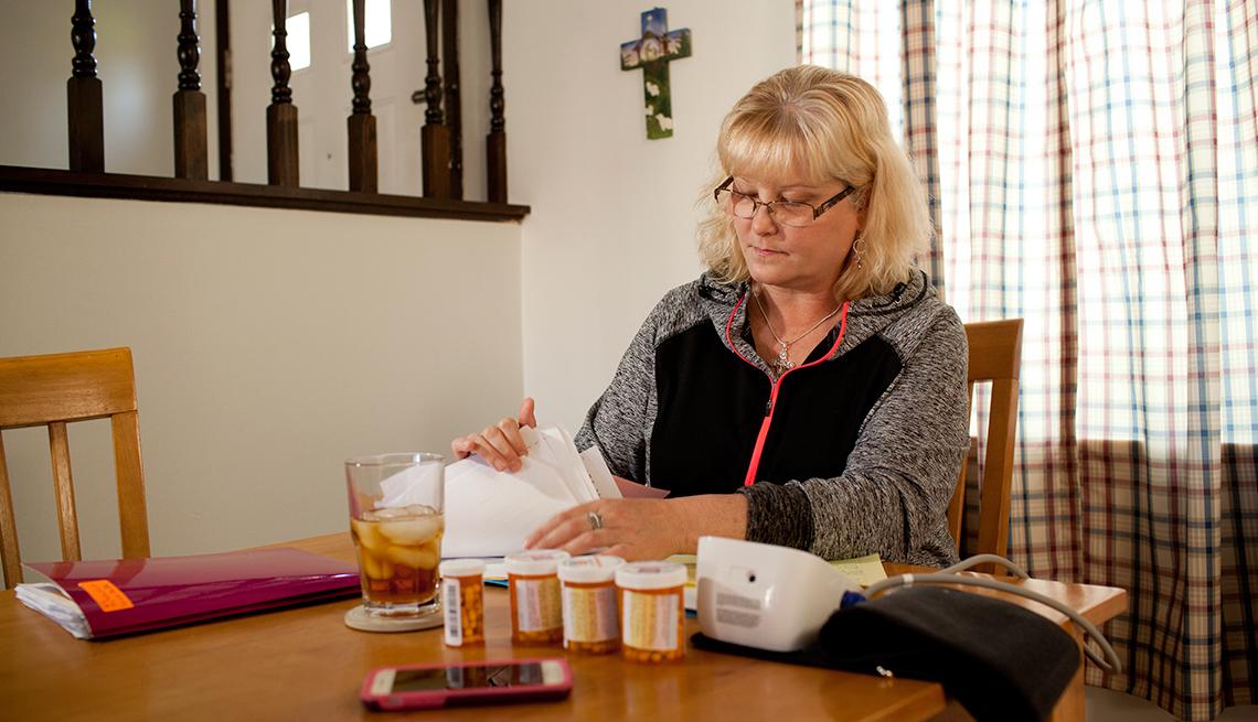 Sherry Herman, de 50 años, de Dayton, Ohio, ha estado tomando Prilosec por una década. Fue diagnosticada con enfermedad renal crónica