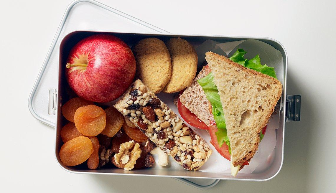 Almuerzo saludable