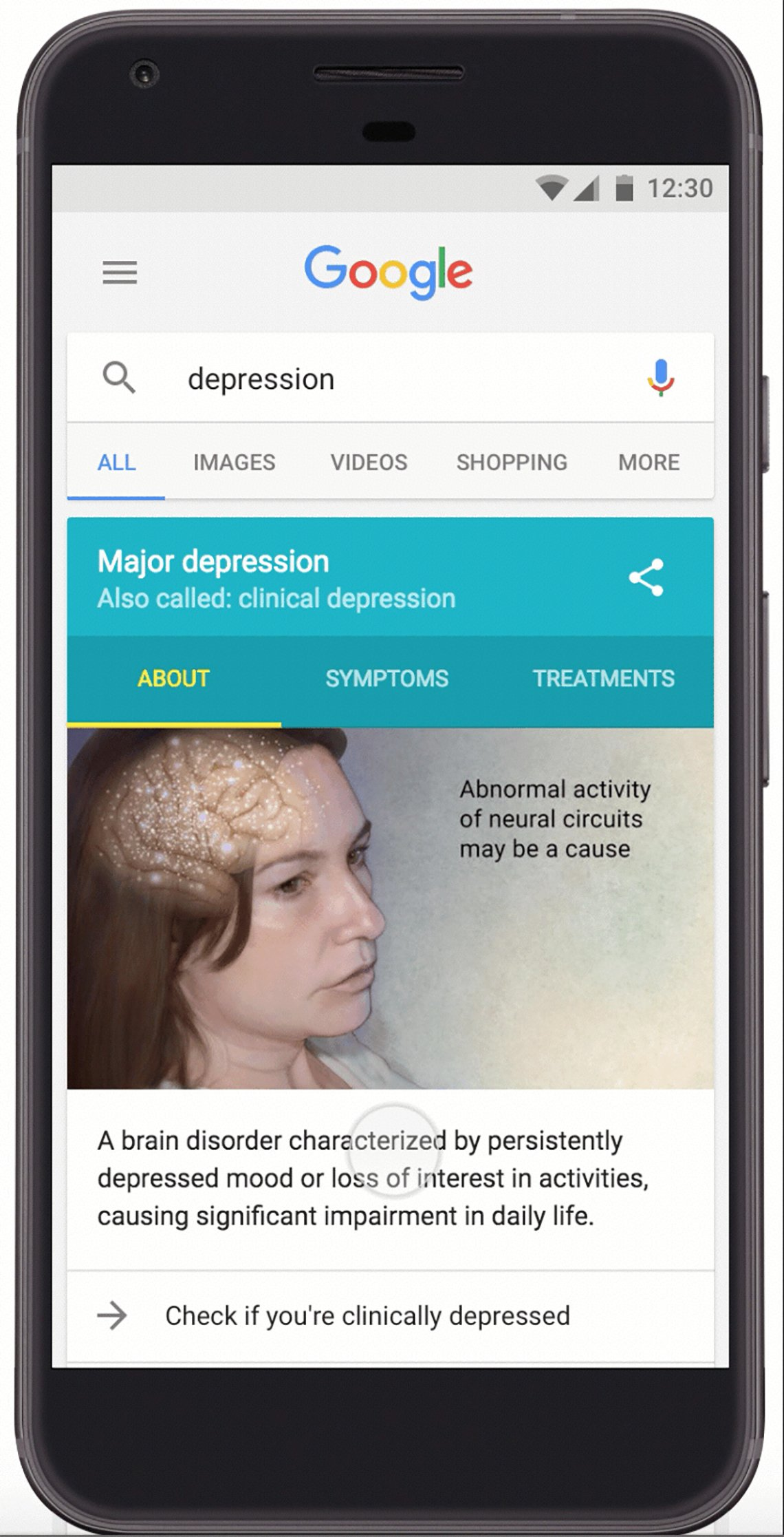 Should you test your mental health on Google