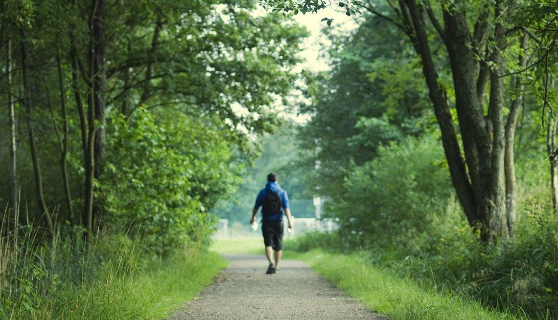 Caminata al aire libre