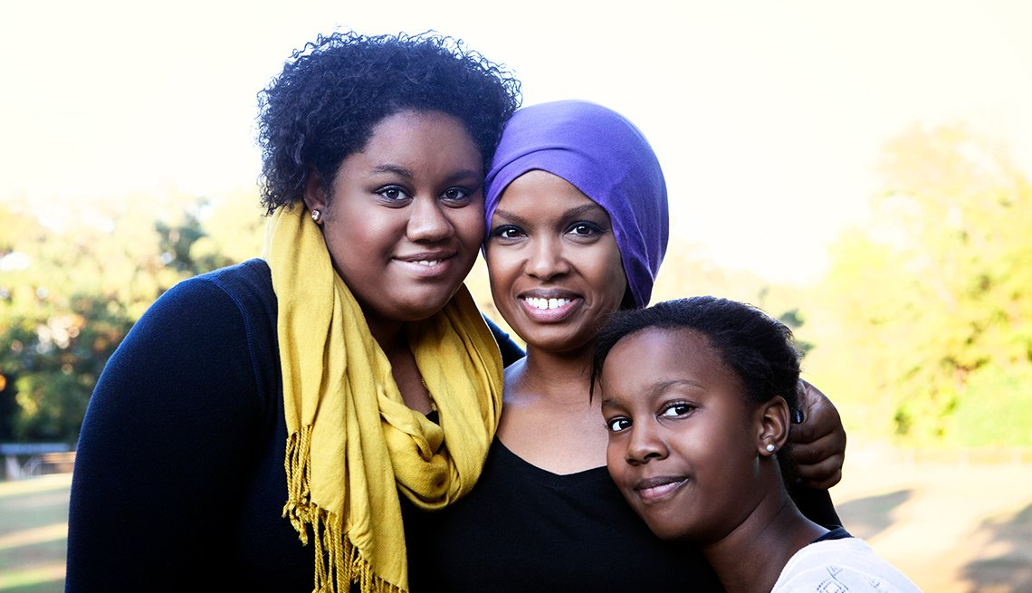 A cancer survivor and her daughters