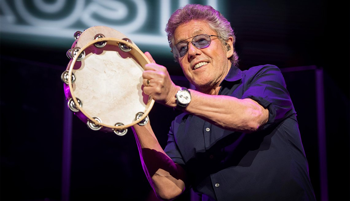 Roger Daltrey on stage during the Teenage Cancer Trust annual concert series