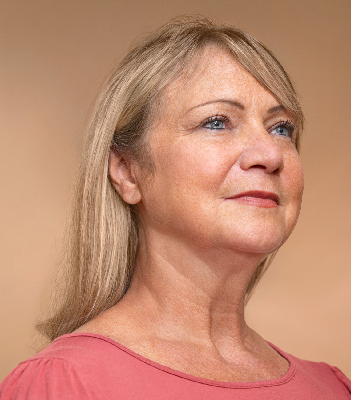 A woman after T-cell therapy for cancer