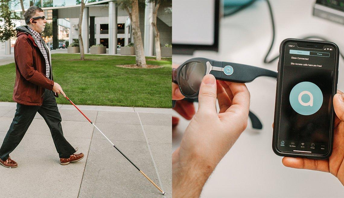 Aira una herramienta que ayuda a personas con baja visión