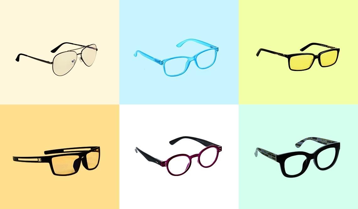 six stylish reading glasses
