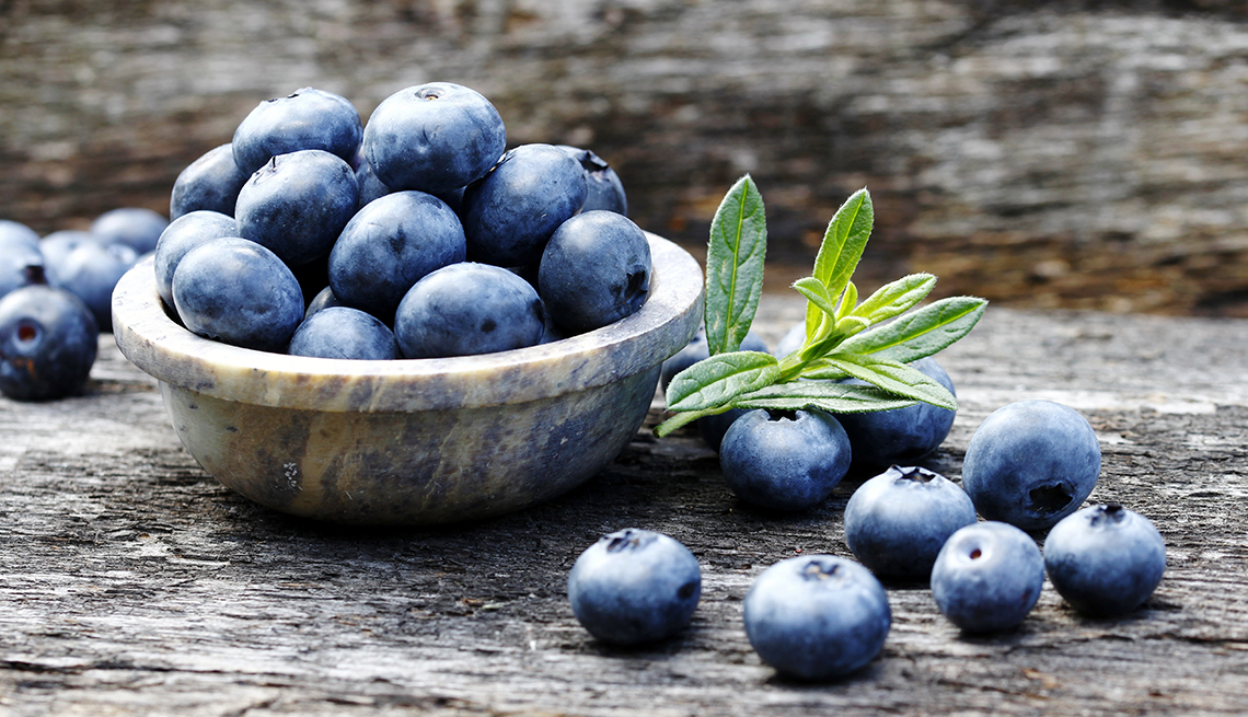 Blueberries For Eye Health