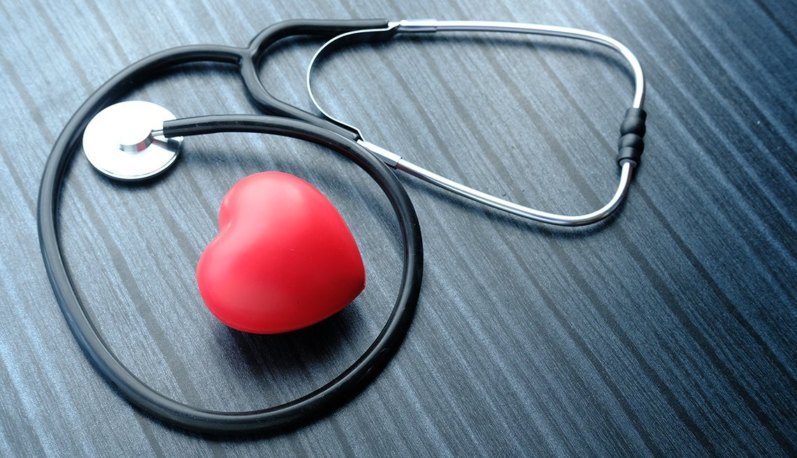 a stethoscope and a heart
