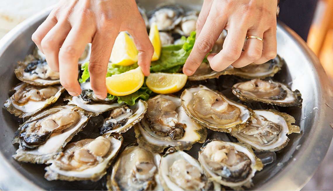 Oysters and Vision Health