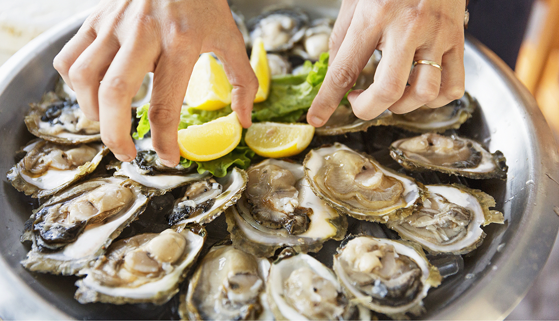 item 4 of Gallery image - Oysters and Vision Health