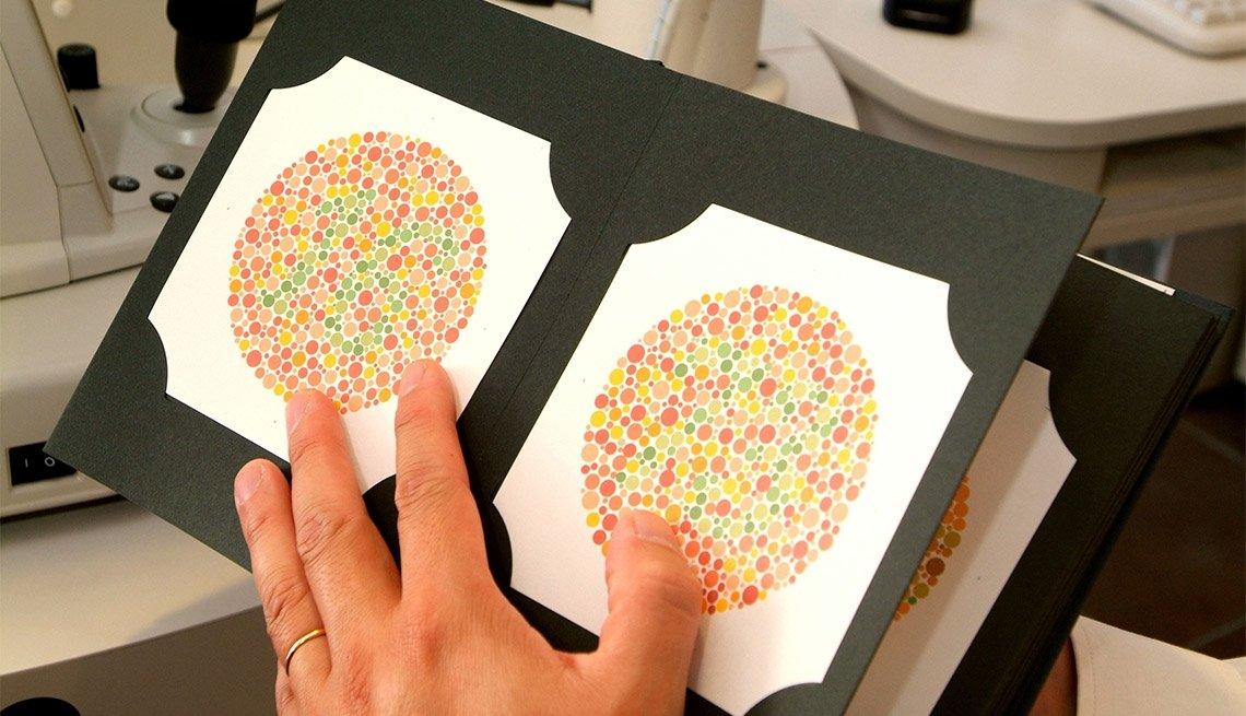 Examen de daltonismo