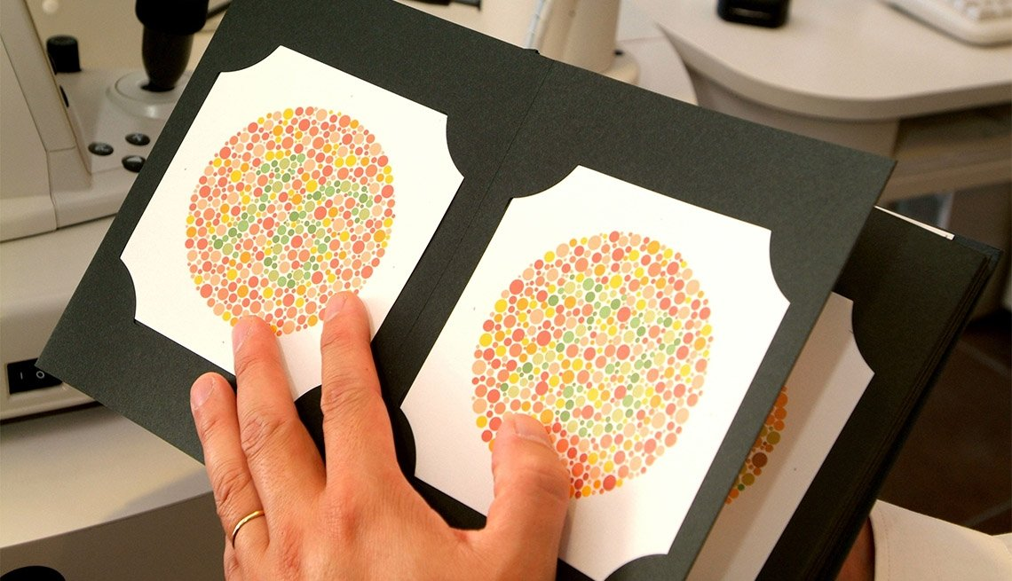 Color blindness test