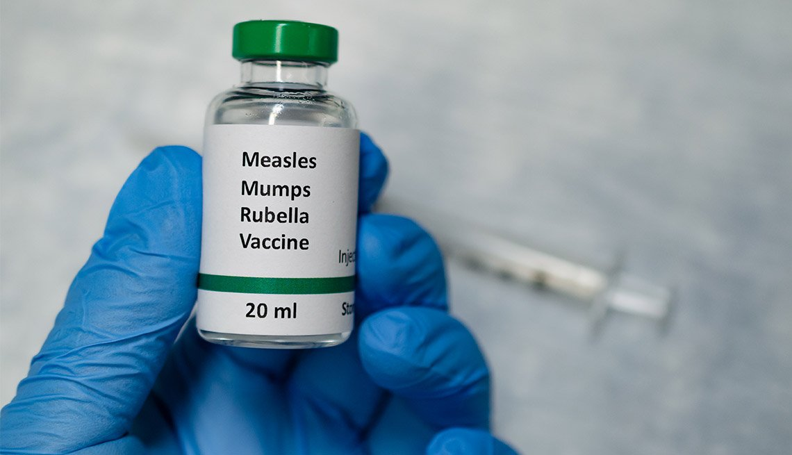 Older Adults May Need Measles Vaccine