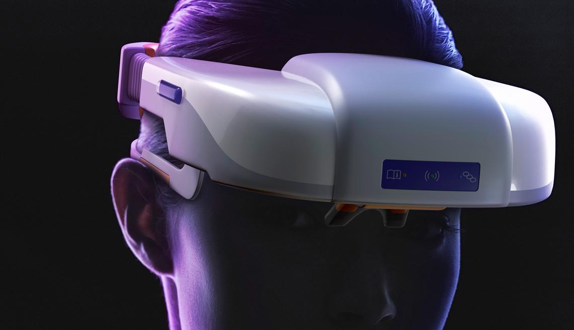 Visor for stroke detection