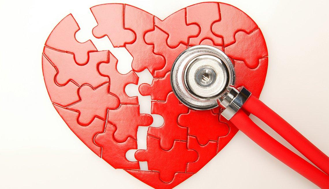 Heart health puzzle