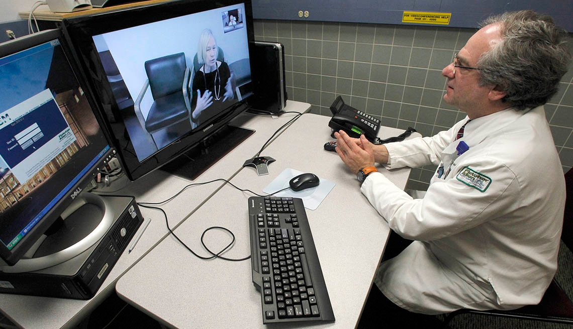 Telemedicine example: Virtual Doctor Visits