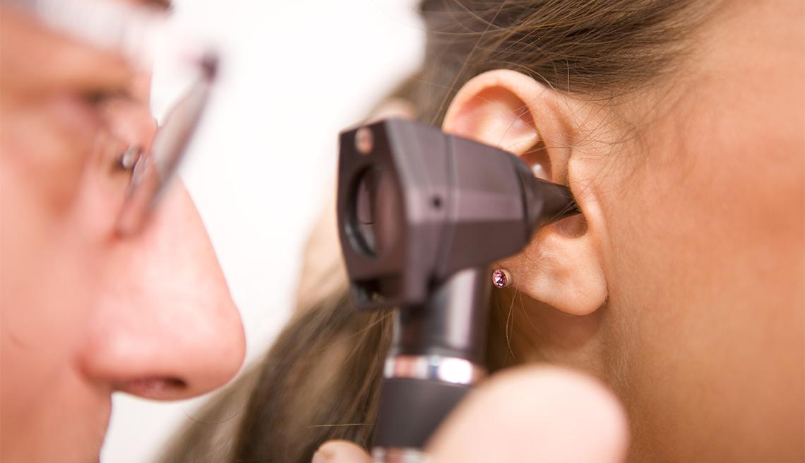 Examen del oído