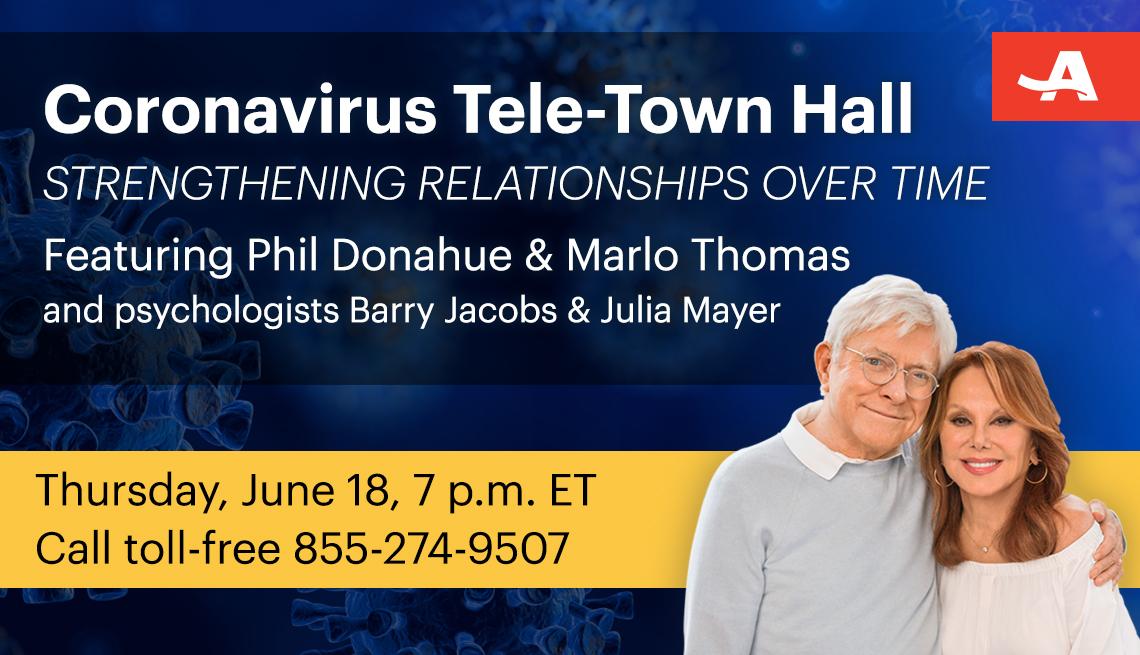 Live AARP Coronavirus Tele-Town Hall