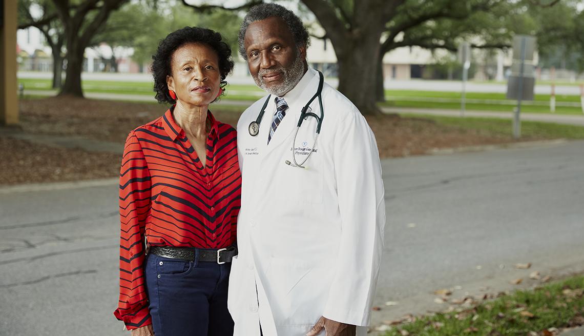 doctor batie and his wife veris