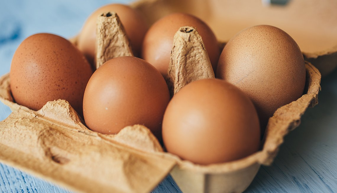 Medio docena de huevos