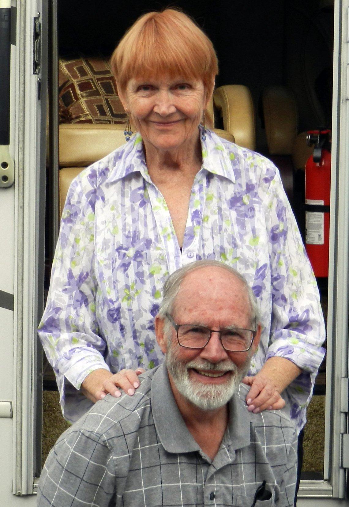 Donna y Alan McIlwain