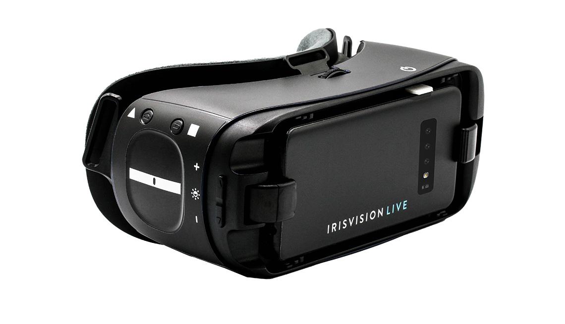 IrisVision assistive vision device