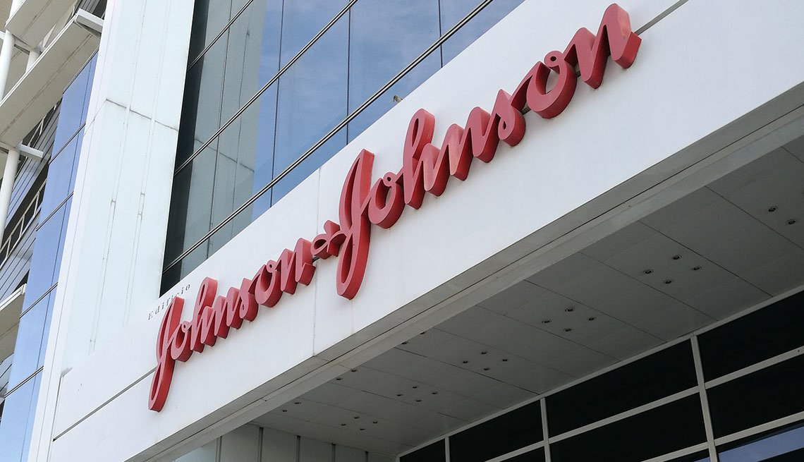 Johnson & Johnson building sign
