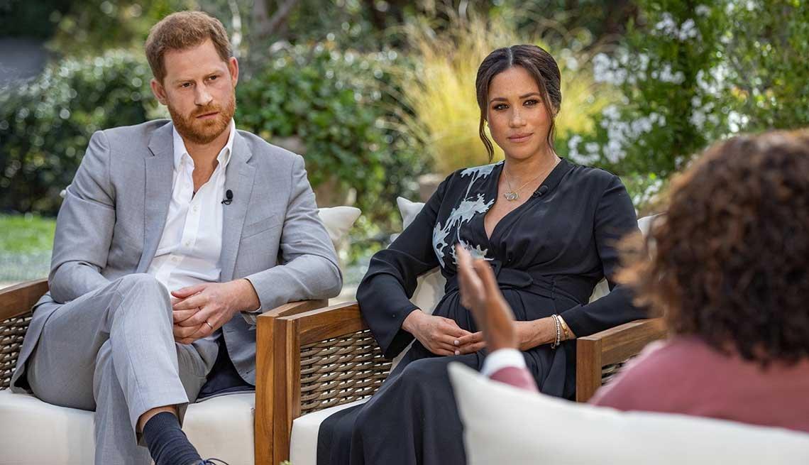 Oprah Winfrey entrevista al Príncipe Harry y a su esposa Meghan Markle