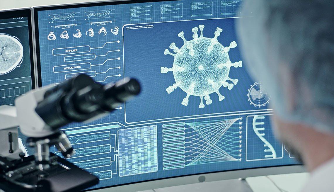 brain scans and coronavirus research