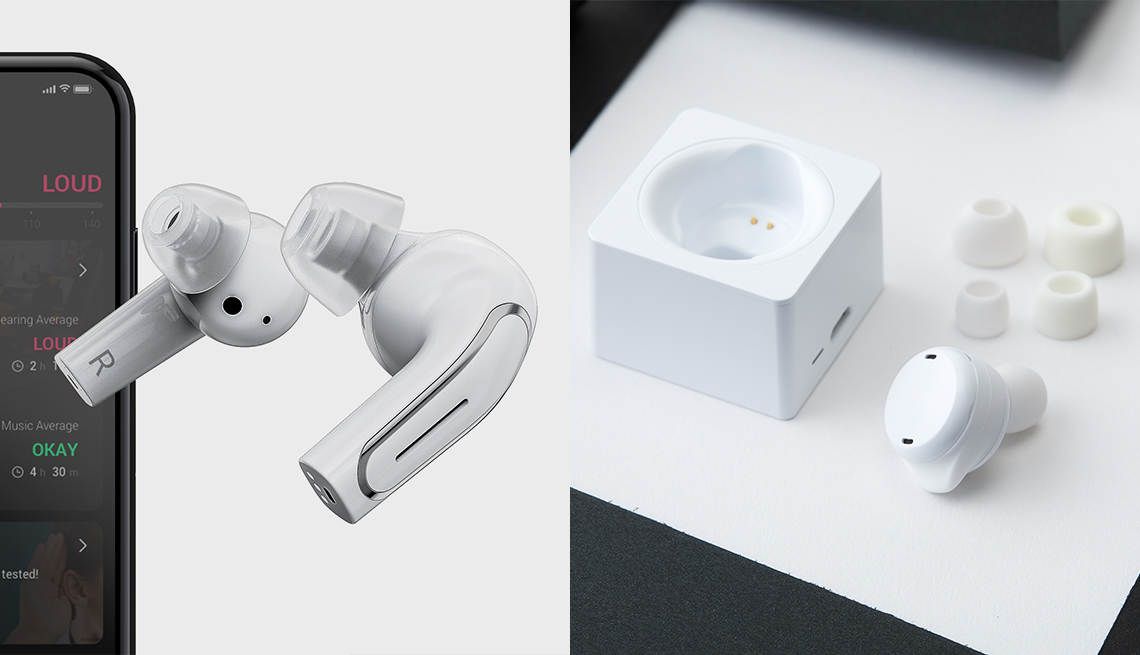 two products the oliversmart ear and the olive pro