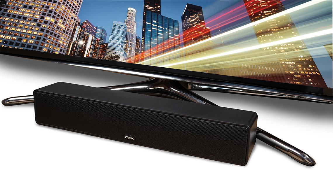 the accu voice t v speaker amplifies voice dialogue from your t v