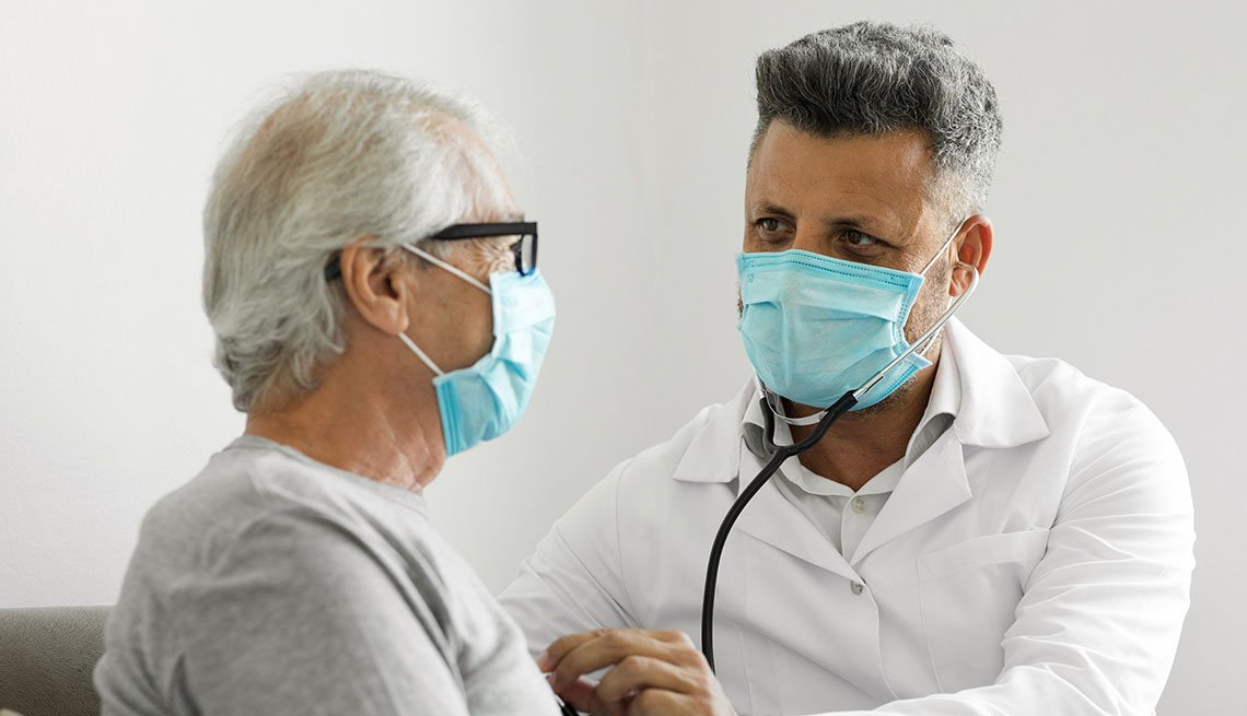 health provider holding stethoscope
