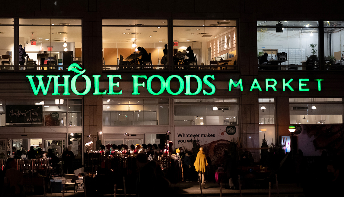 Exterior of whole foods in New York City.