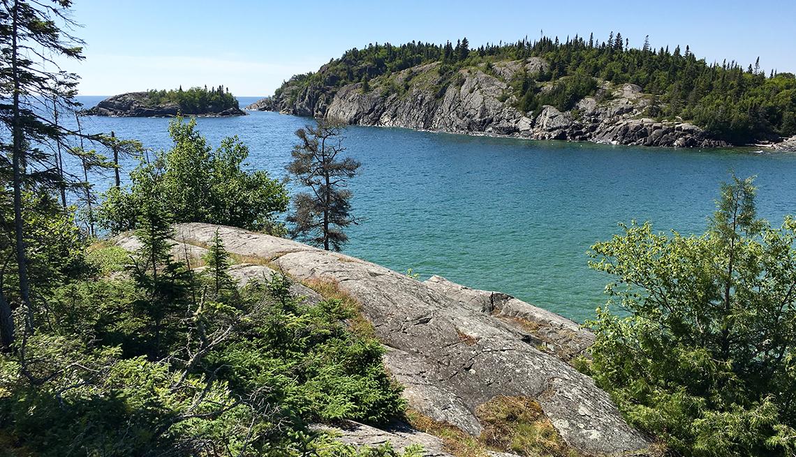 headlands on Lake Ontario