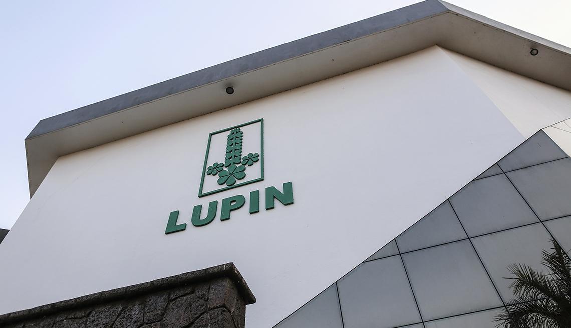 Fachada de un edificio de Lupin Pharmaceutical