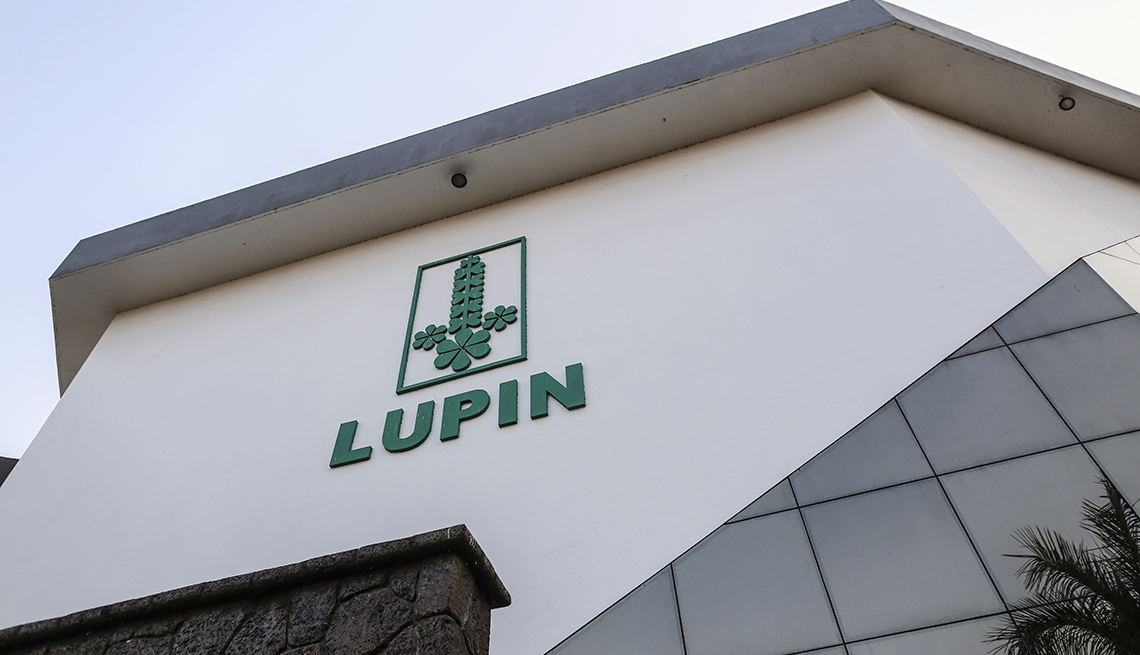 Lupin pharmaceutical plant