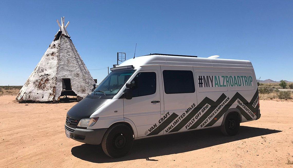 My Alzheimer's Road Trip Van