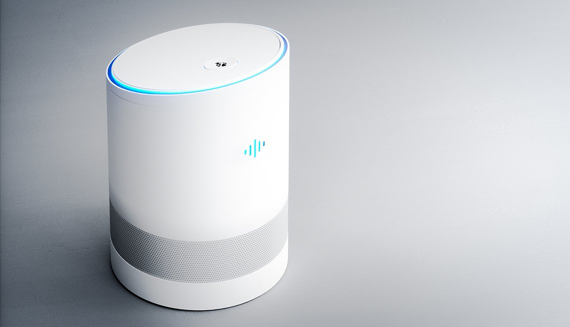 Home intelligent voice activated assistant.