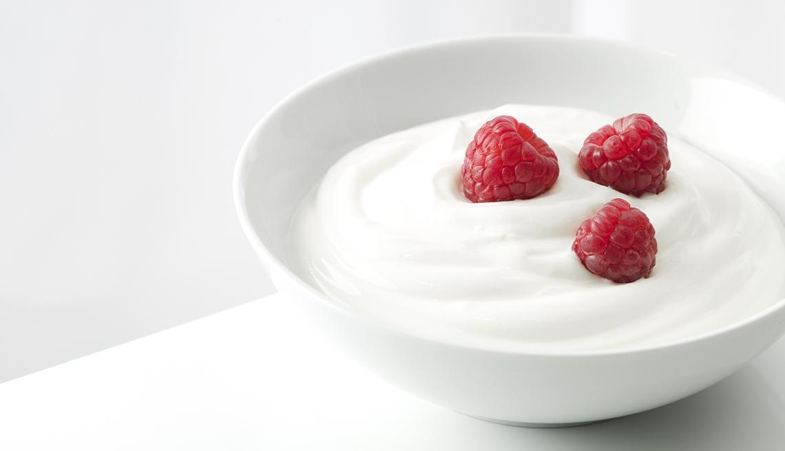item 5 of Gallery image - Yogur con frambuesas