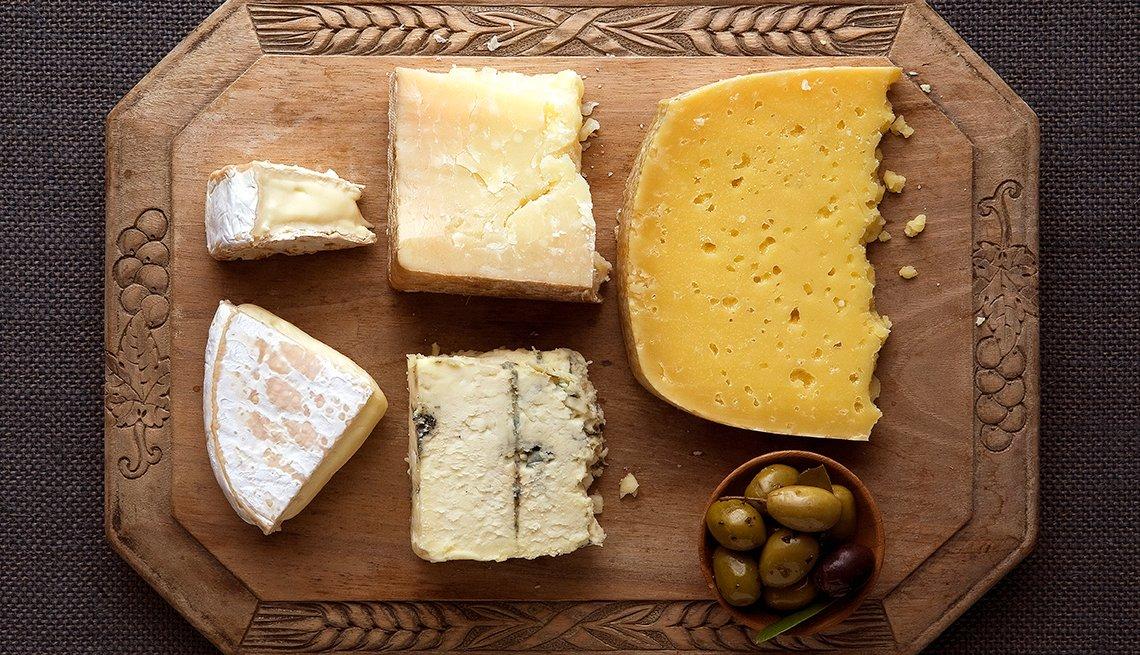 Picador con varios quesos