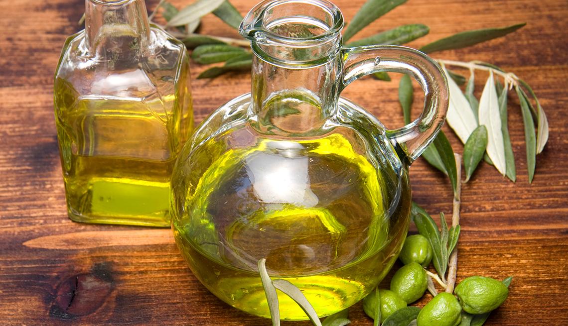 Botellas de aceite de oliva