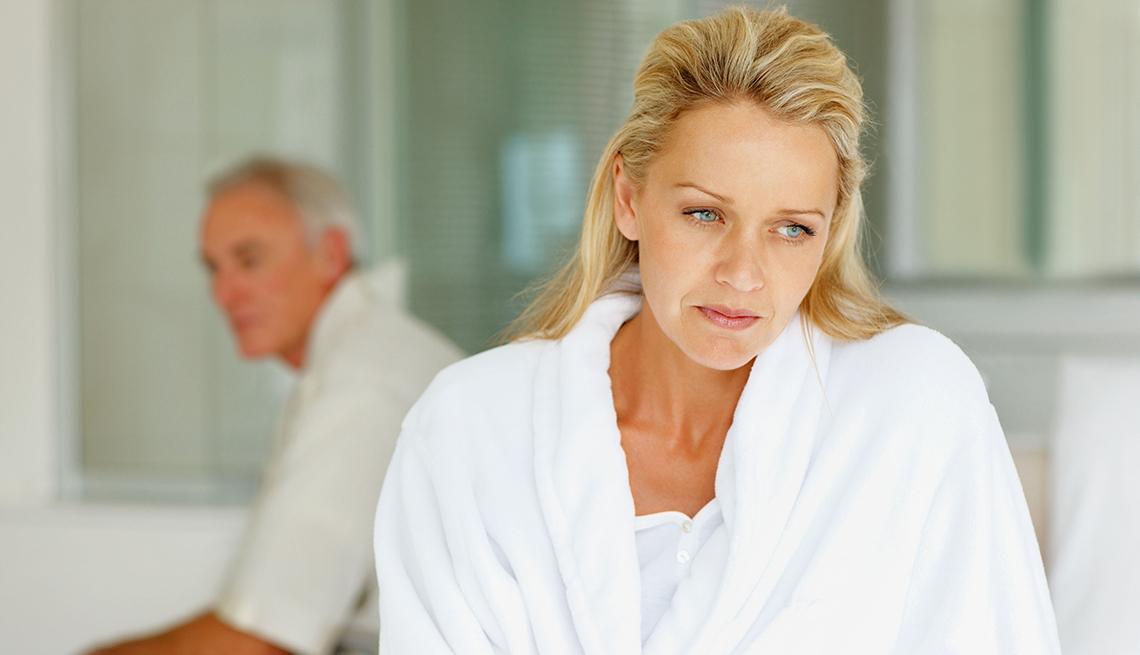 dolor en las relaciones sexuales en la menopausia