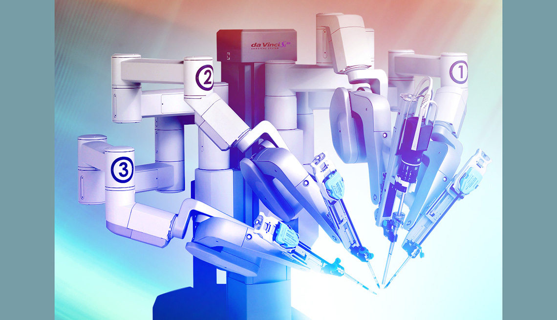 ¿Cuál es el tratamiento de la próstata con robots?