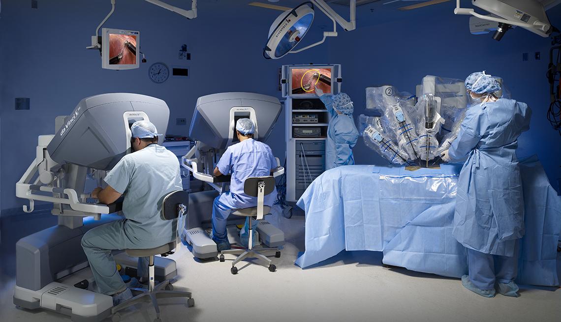 cirugía abierta de próstata a masa