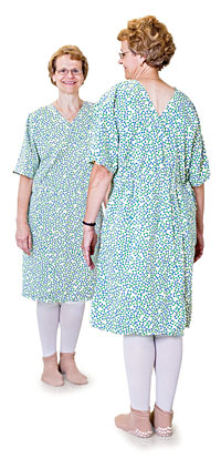 Finally, a hospital gown that won't leave you exposed.